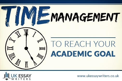 time management to reach your academic goal.